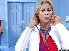 Teen nurse and MILF doctor...