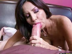 Milfs pussy fucked by an...
