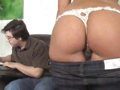 Ashli Orion gets banged by...