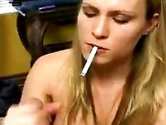 Blonde Babe Cant Quit The...
