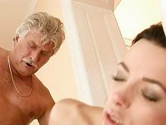 Teen beauty fucking older guy