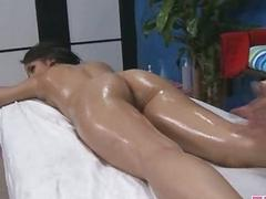 Sexy hot babe fucks and sucks